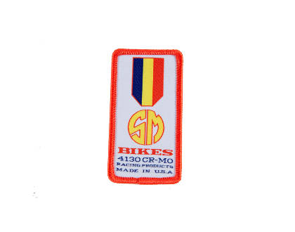 Patch S&M bmx gold medal