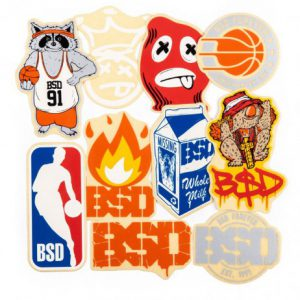 Pack Stickers BSD 2018