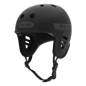 casque protec full cut matt black